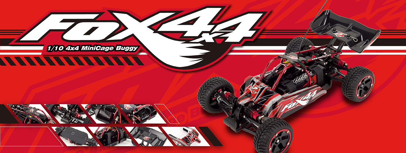 SWORKz FOX 4×4 1/10 4×4 Minicage Buggy
