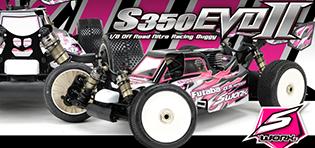 S350 EVO II 1/8 Pro Buggy Kit