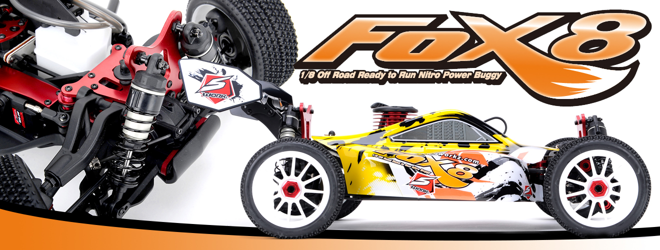 SWORKz S350 FOX8 1/8 Nitro Off Road RTR Buggy