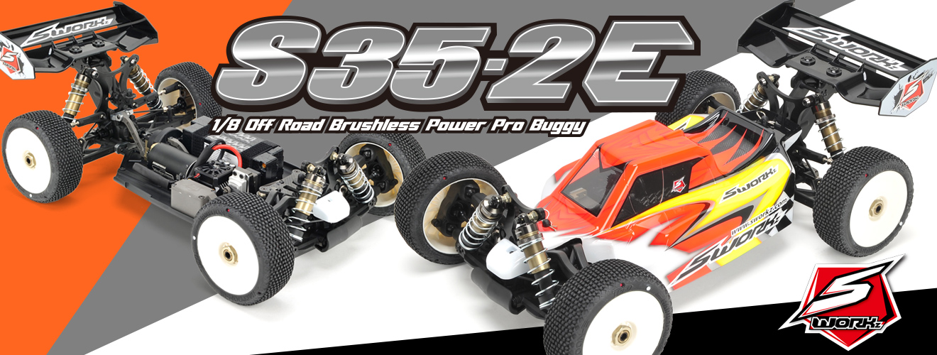 SWORKz S35-2E 1/8 BL Power Pro Buggy Kit