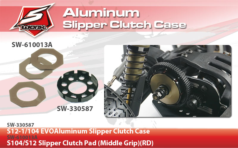 SW-330587 S12-104 EVOAluminum Slipper Clutch Case