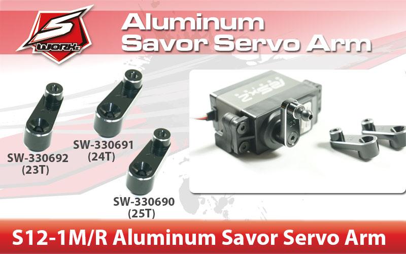 SW-330690 S12-1Aluminum Savor Servo Arm
